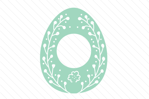 Easter Egg Monogram Frames Easter Craft Cut File By Creative Fabrica Crafts - Image 6