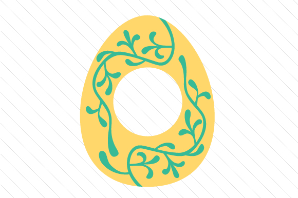 Easter Egg Monogram Frames Easter Craft Cut File By Creative Fabrica Crafts - Image 7
