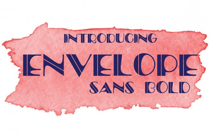 Envelope Font By YanIndesign