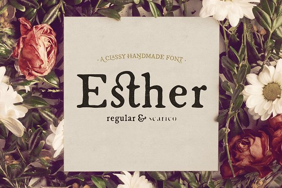 Print on Demand: Esther Serif Font By Hederae Type Foundry - Image 1