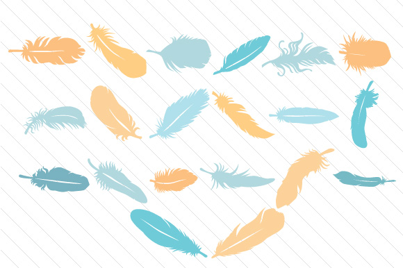 The Feathers Kit Kits & Sets Craft Cut File By Creative Fabrica Crafts - Image 2