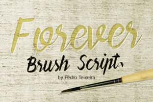 forever-brush-script-by-pedro-teixeira-1