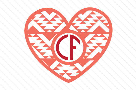 Download Free Heart Monogram Frame Set 2 Svg Cut File By Creative Fabrica for Cricut Explore, Silhouette and other cutting machines.