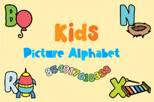 kids-picture-alphabet-for-decorating-nursery-or-shirts-1