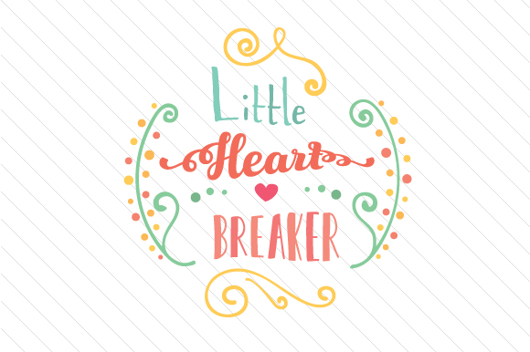 Little Heart Breaker Craft Design By Creative Fabrica Freebies