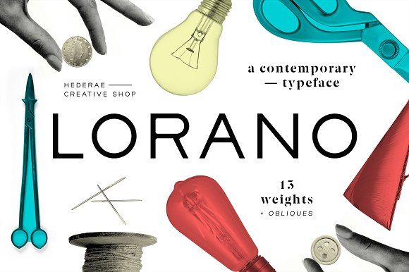Lorano Sans Serif Font By Hederae Type Foundry