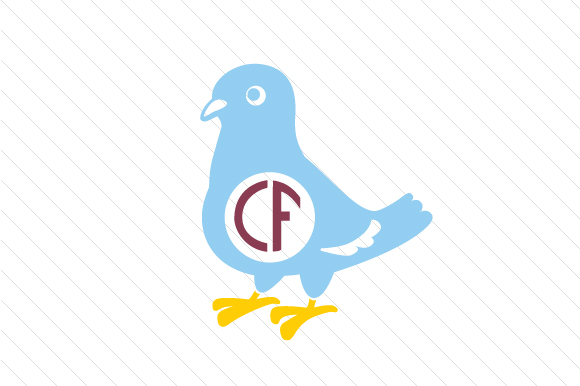 Download Free Pigeon Monogram Frame Svg Cut File By Creative Fabrica Crafts for Cricut Explore, Silhouette and other cutting machines.