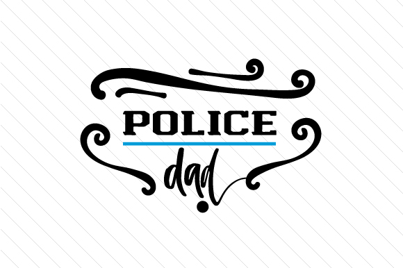 Download Free Police Dad Svg Cut File By Creative Fabrica Crafts Creative for Cricut Explore, Silhouette and other cutting machines.