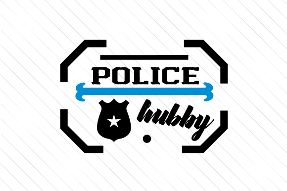 Download Free Police Hubby Svg Cut File By Creative Fabrica Crafts Creative for Cricut Explore, Silhouette and other cutting machines.