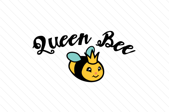 Download Free Queen Bee Svg Cut File By Creative Fabrica Crafts Creative Fabrica for Cricut Explore, Silhouette and other cutting machines.