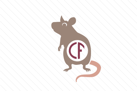 Download Free Rat Monogram Frame Svg Cut File By Creative Fabrica Crafts for Cricut Explore, Silhouette and other cutting machines.