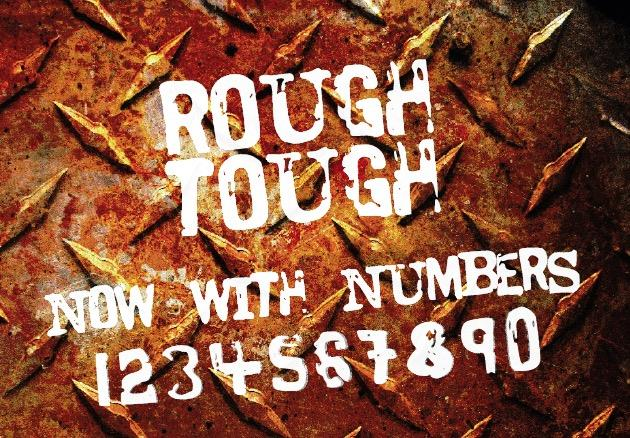 Print on Demand: Rough Tough Display Font By GraphicsBam Fonts
