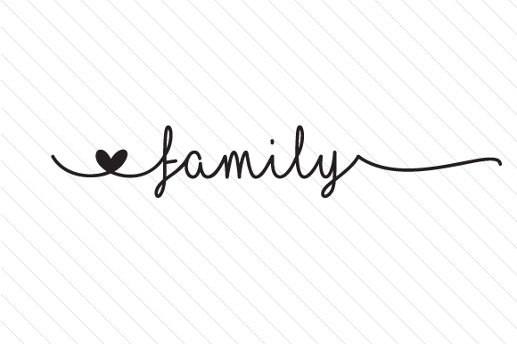 Family Word Art Craft Cut File By Creative Fabrica Crafts