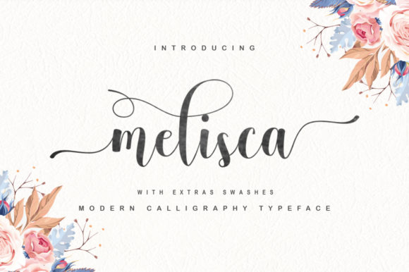 Download Free Melisca Font By Cooldesignlab Creative Fabrica for Cricut Explore, Silhouette and other cutting machines.