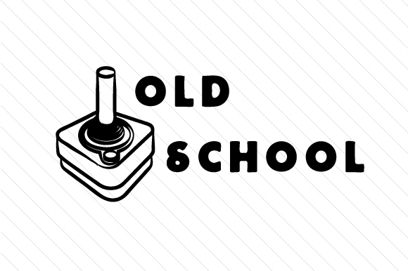 Old School Kids Craft Cut File By Cut Cut Palooza