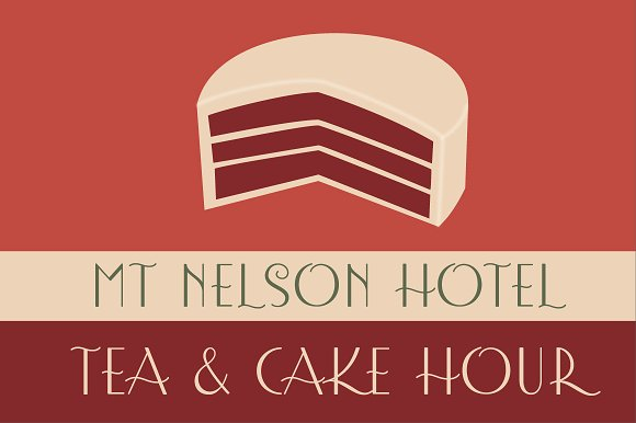 Print on Demand: Afternoon Tea Display Font By Rocket Type - Image 4