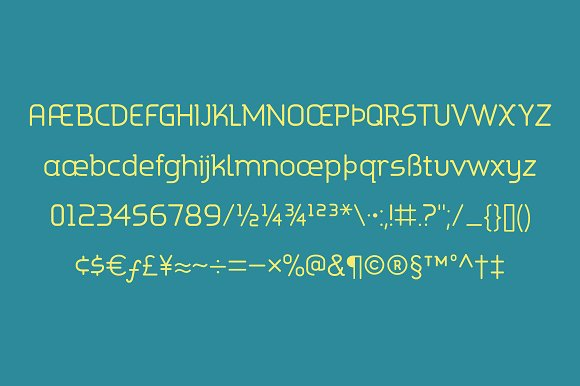 Print on Demand: Aldin Sans Serif Font By Good Gravy Type - Image 2