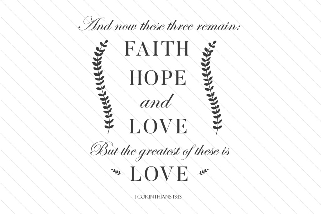 Download Free And Now These Three Remain Faith Hope And Love Svg Cut File By for Cricut Explore, Silhouette and other cutting machines.