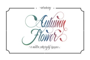 autumn-flower-font-by-thirthypath-1