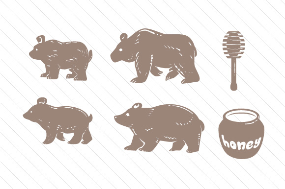 Download Free Bear Family Svg Cut File By Creative Fabrica Crafts Creative SVG Cut Files