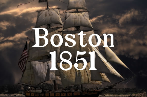 Boston 1851 Font By Proportional Lime
