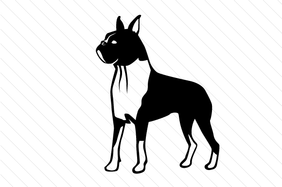 Dog Breed - Boxer Craft Design By Creative Fabrica Crafts
