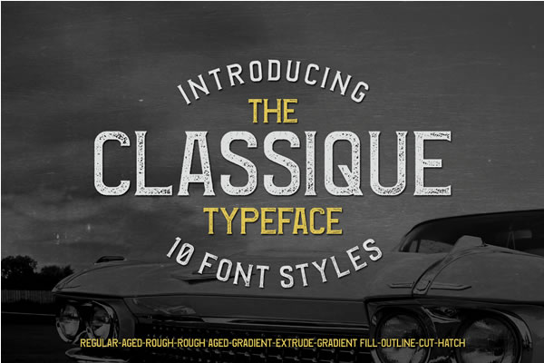 Print on Demand: Classique Sans Serif Font By Lettersiro Co.