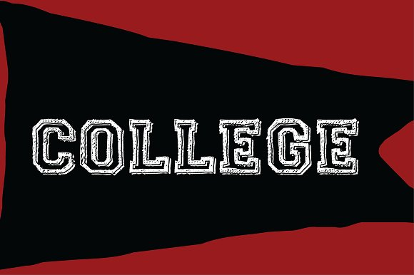 Print on Demand: College Dropout Slab Serif Font By Good Gravy Type - Image 6