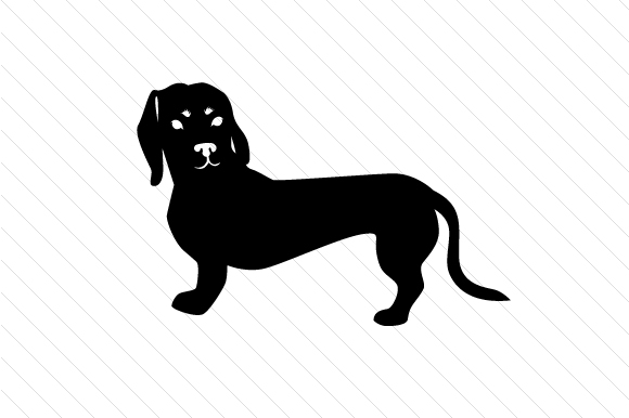 Download Free Dog Breed Dachshund Svg Cut File By Creative Fabrica Crafts for Cricut Explore, Silhouette and other cutting machines.