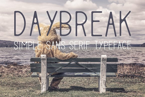 Print on Demand: Daybreak Sans Serif Font By Mike Hill