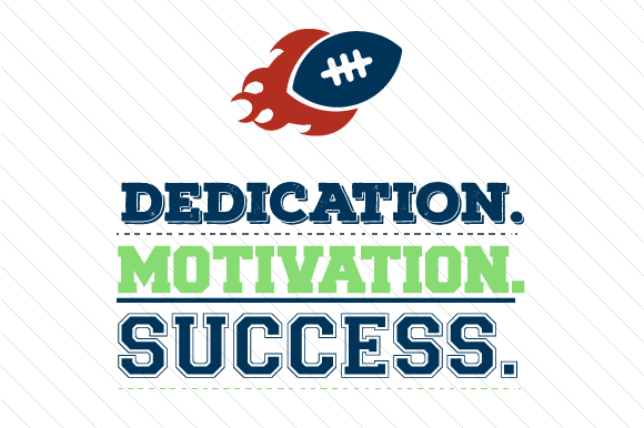 Download Free Dedication Motivation Success Football Svg Cut File By Creative for Cricut Explore, Silhouette and other cutting machines.