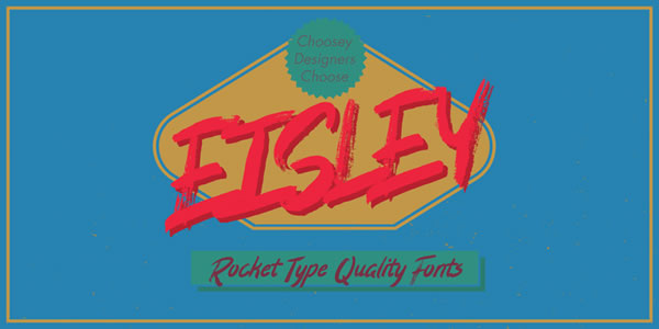 Print on Demand: Eisley Display Font By Good Gravy Type