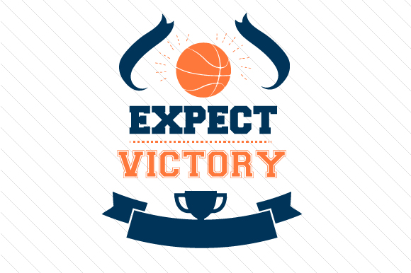 Download Free Expect Victory Basketball Svg Cut File By Creative Fabrica for Cricut Explore, Silhouette and other cutting machines.