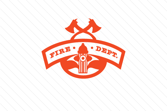 Fireman Badge Fire & Police Craft Cut File By Creative Fabrica Crafts