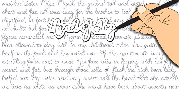 Print on Demand: Hand of Joy Script & Handwritten Font By Rocket Type