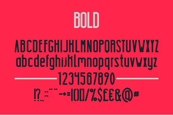 Highrise Font By Mike Hill Image 3