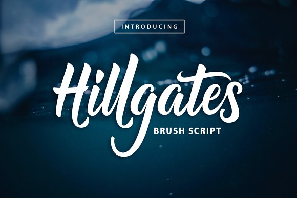 Print on Demand: Hillgates Script & Handwritten Font By Mercurial