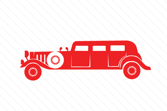 Limousine Red Vehicles Craft Cut File By Creative Fabrica Crafts