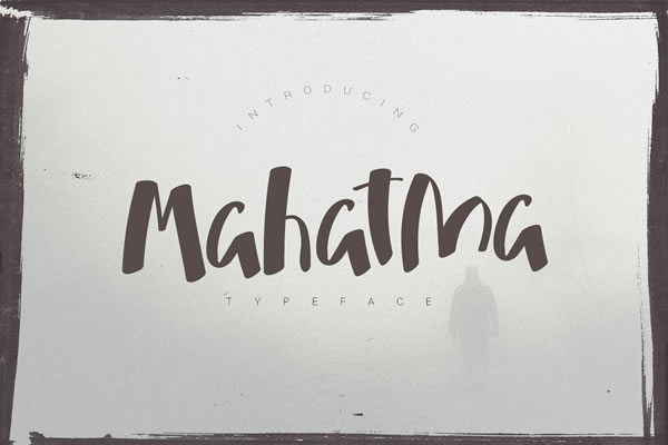 Print on Demand: Mahatma Display Font By SmartDesigns