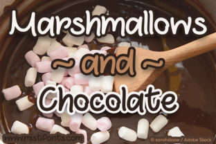Marshmallows and Chocolate by Misti
