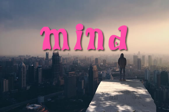 Mind Font By Gustavo Lucero