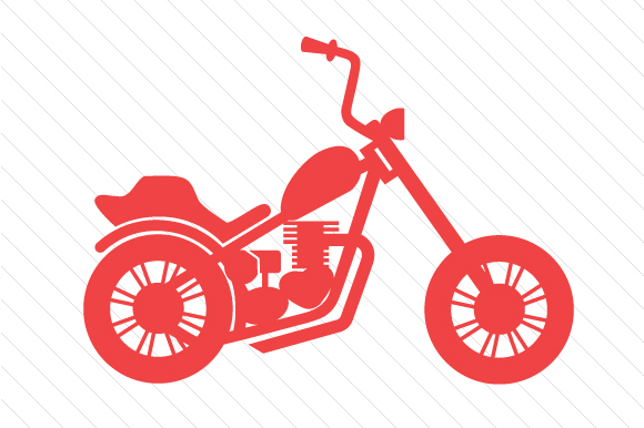 Motorcycle Red Vehicles Craft Cut File By Creative Fabrica Crafts