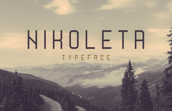 Print on Demand: Nikoleta Font By Creative Fabrica Freebies