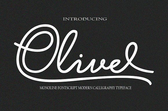 Print on Demand: Olive Script & Handwritten Font By Danti