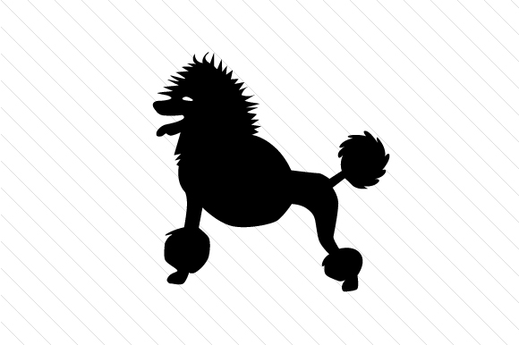 Dog Breed - Poodle Craft Design By Creative Fabrica Crafts