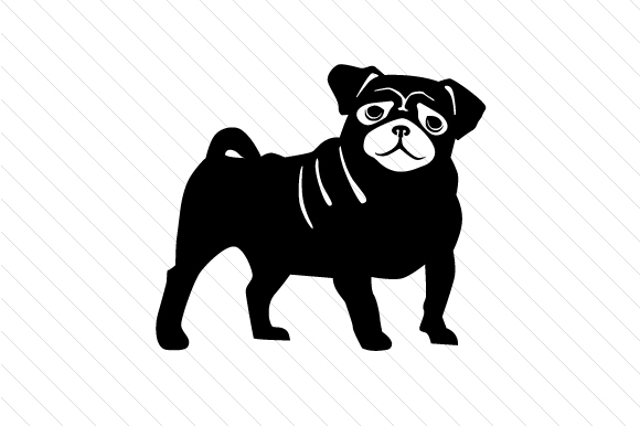 Download Free Dog Breed Pug Svg Cut File By Creative Fabrica Crafts for Cricut Explore, Silhouette and other cutting machines.