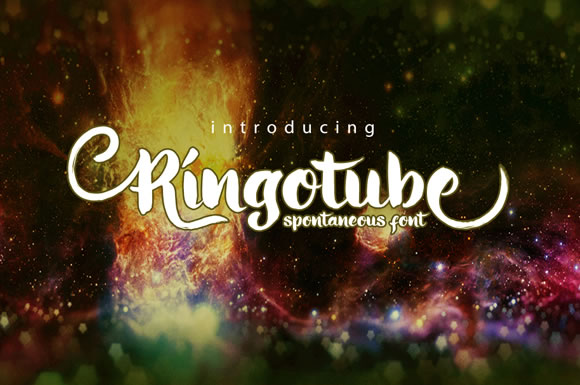 Print on Demand: Ringotube Script & Handwritten Font By Cove703