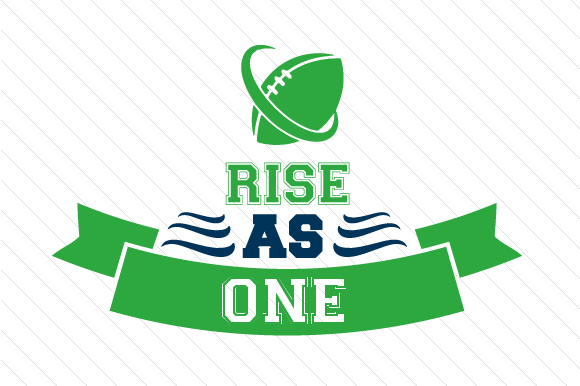 Rise As One Football Sports Craft Cut File By Creative Fabrica Crafts - Image 1