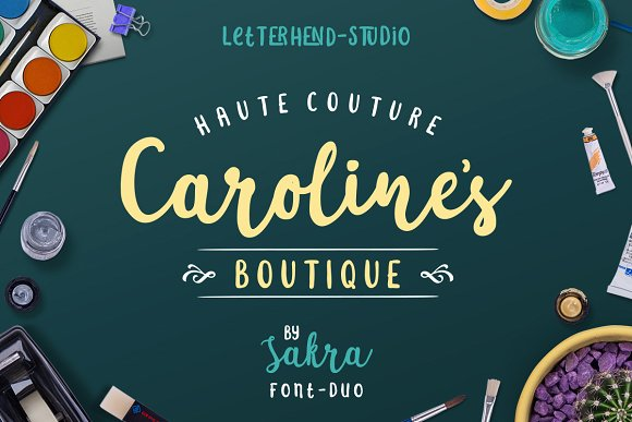 Print on Demand: Sakra Script & Handwritten Font By letterhend