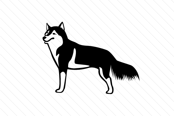 Download Free Dog Breed Siberian Husky Svg Cut File By Creative Fabrica for Cricut Explore, Silhouette and other cutting machines.